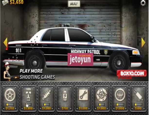 Polis Arabası Sür Oyunu Oyna Araba Oyunları
