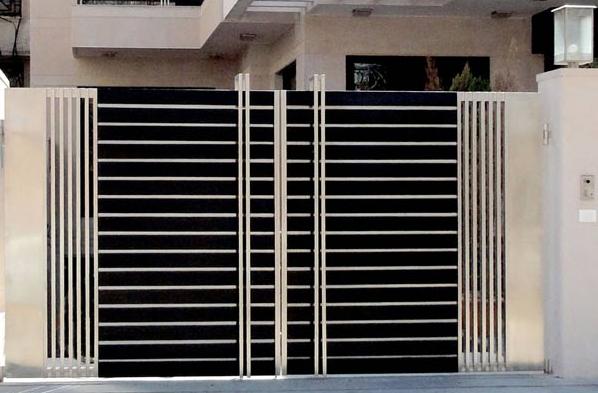 Galeri Pagar Rumah Mewah  terbaru 28 galeri pagar minimalis