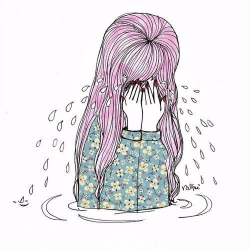 Anime Dibujos Tumblr Sad