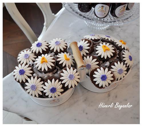 Işık's Baby Shower Day (cupcake)