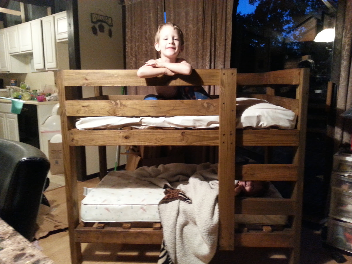 Toddler bunk beds | Do It Yourself Home Projects from Ana White