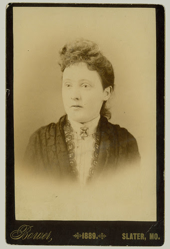Cabinet Card Woman