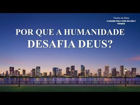 """Filme evangélico """"O caminho para o reino dos céus é perigoso"""" Trecho 4 – Por que a humanidade desafia Deus?"""