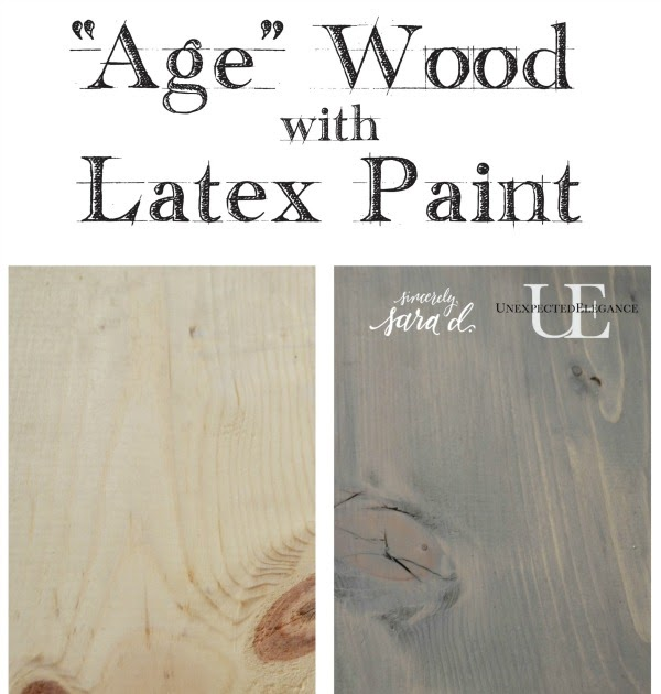 Can Latex Paint Be Used On Wood