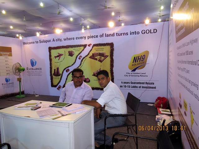 Excellence Shelters Pvt. Ltd - NH9 Solapur - Maharashtra Times Pune Property Show April 2013