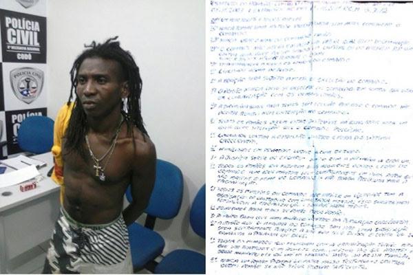 """""""Zé do Buraco"""" agredia uma pessoa quando foi preso"""