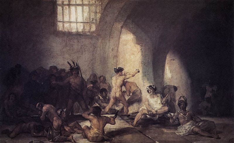 File:Francisco de Goya y Lucientes - The Madhouse - WGA10078.jpg