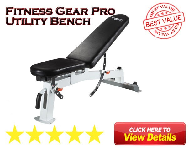 Fitness Gear Utility Bench Review 2017 - Fitness Gear Pro ...