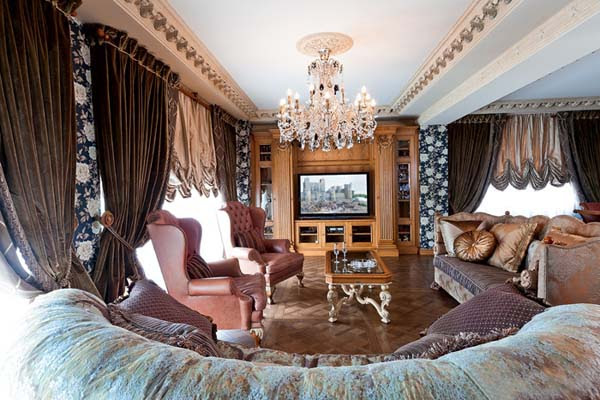 Interior Decorating In Classic Style Premier Apartment In Moscow