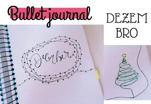 Bullet journal de dezembro 2017
