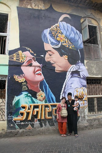 The Beggar Poet Of Bollywood With Nerjis And Manuela by firoze shakir photographerno1