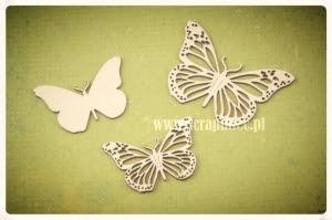 Motylki ażurowe 02 zestaw