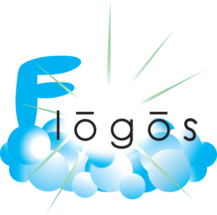 "flogo FLOATING/FLYING LOGOS"", making clouds into shapes"