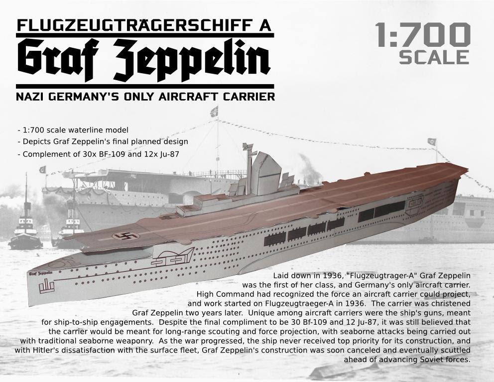 Graf Zeppelin Papercraft