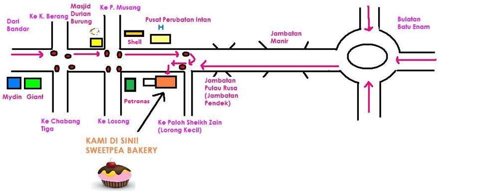 Kedai Kek Yang Sedap Di Kuala Terengganu - Dunia Farisya