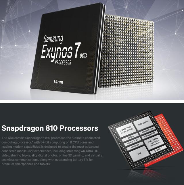 64-bit, octa-core processors
