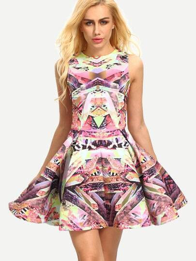 http://www.shein.com/Multicolor-Sleeveless-Floral-Flare-Dress-p-202657-cat-1727.html?utm_source=truskawkowakawa.blogspot.com&utm_medium=blogger&url_from=truskawkowakawa