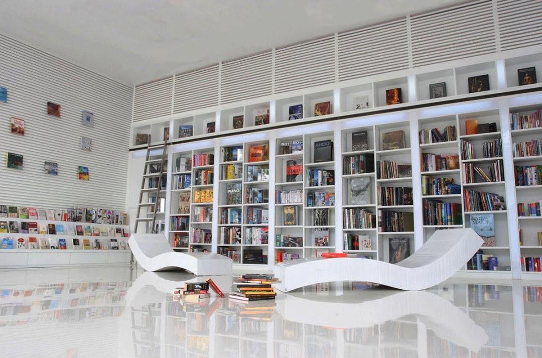 Large Wall Bookshelfinterior Design Ideas