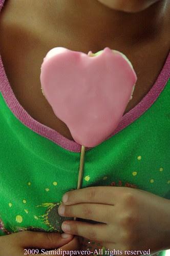 Un cuore rosa