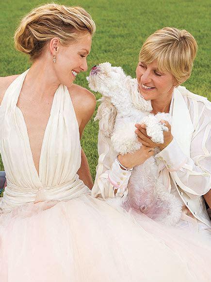 Portia De Rossie Weds Ellen Degeneres   Joan Dee   Wedding