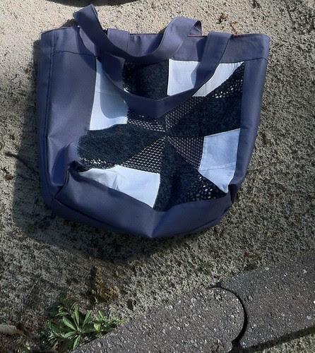 Bag #8 (b/w pinwheel)