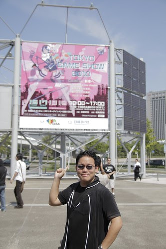 Me at the Tokyo Game Show 2010