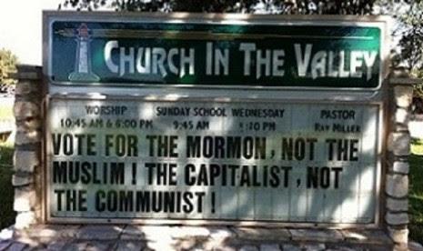 Satu Gereja di AS Sebut Obama Muslim