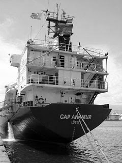 La nave Cap Anamur