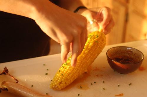 the island - fresh corn