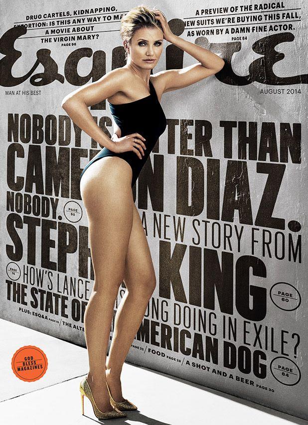 Cameron Diaz : Esquire (August 2014) photo ESQ-AUGUST-COVER.jpg