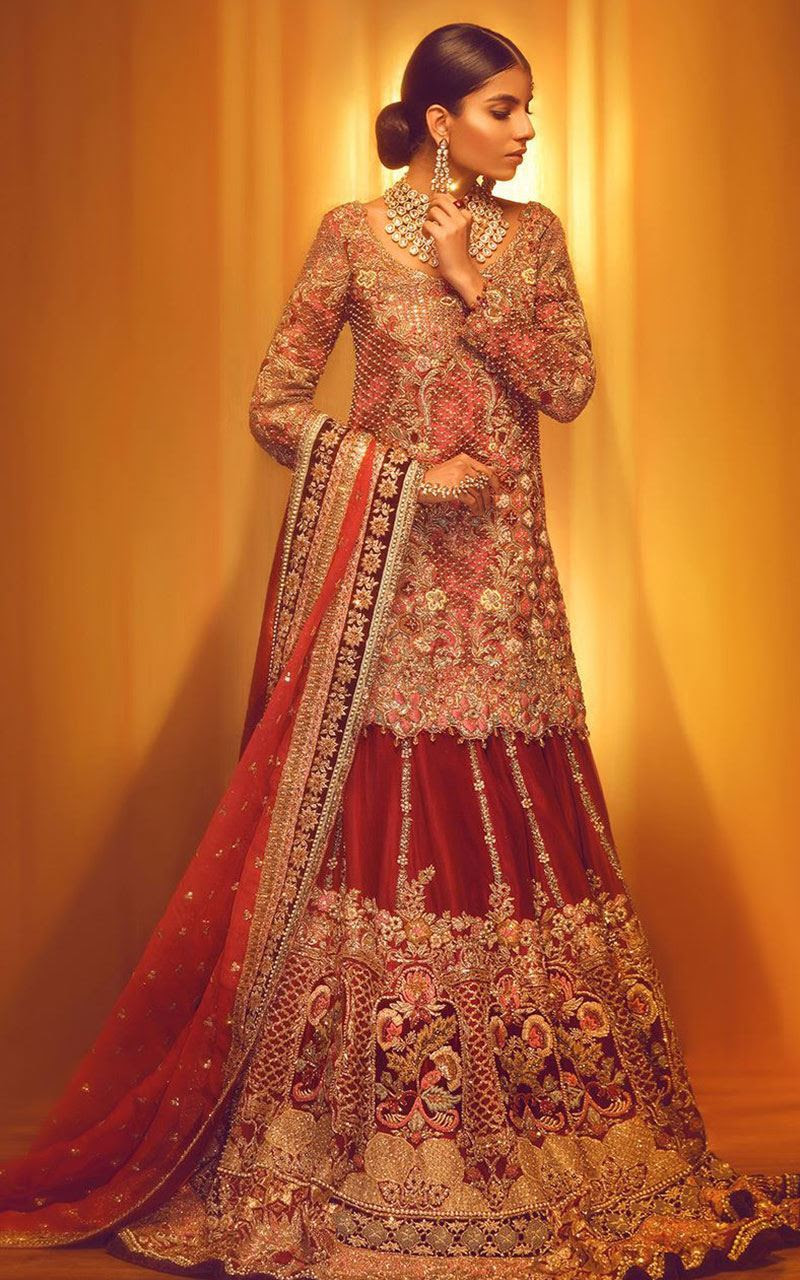 100 pakistani bridal dresses 2018 for wedding parties 3