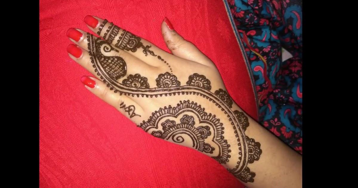 Easy Simple Henna Designs Back Of Hand - gambar henna tangan simple dan bagus