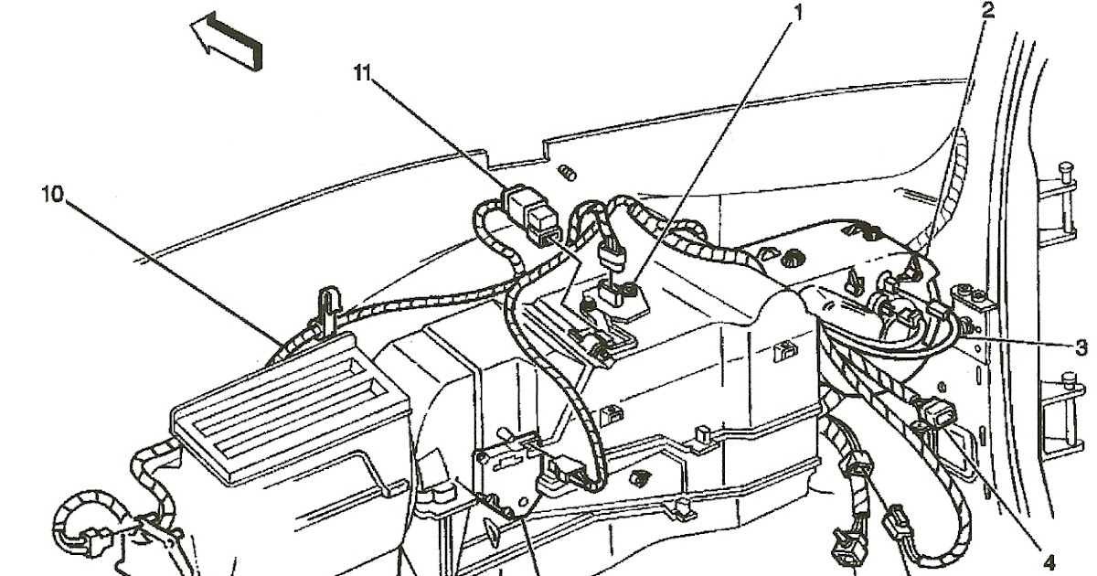 Wiring Diagram Database  2000 Chevy Silverado Heater Hose