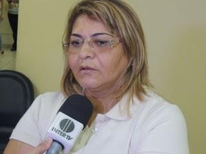 Regilene Dantas, mãe de Maria Luiza, cobra justiça (Foto: Felipe Gibson/G1)