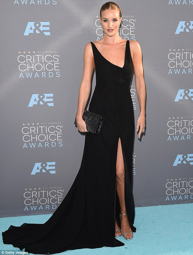 Rosie Huntington Whitely Critic's Choice Awards 2016