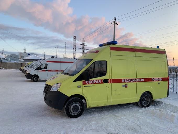 Нефтеюганская скорая помощь получила на новый год автомобиль