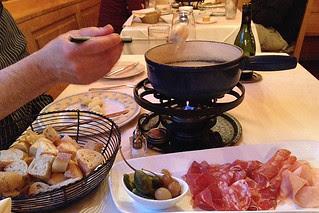 Matterhorn - Half and Half fondue