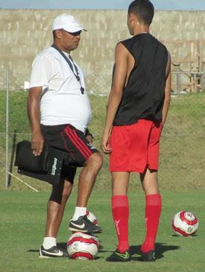 RN - Wassil Mendes, técnico do Atlético Potengi (Foto: Rhuan Carlos/Divulgação)