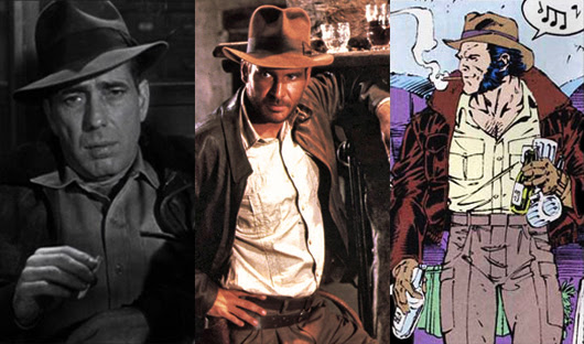 Dobbs, Indiana Jones, Logan