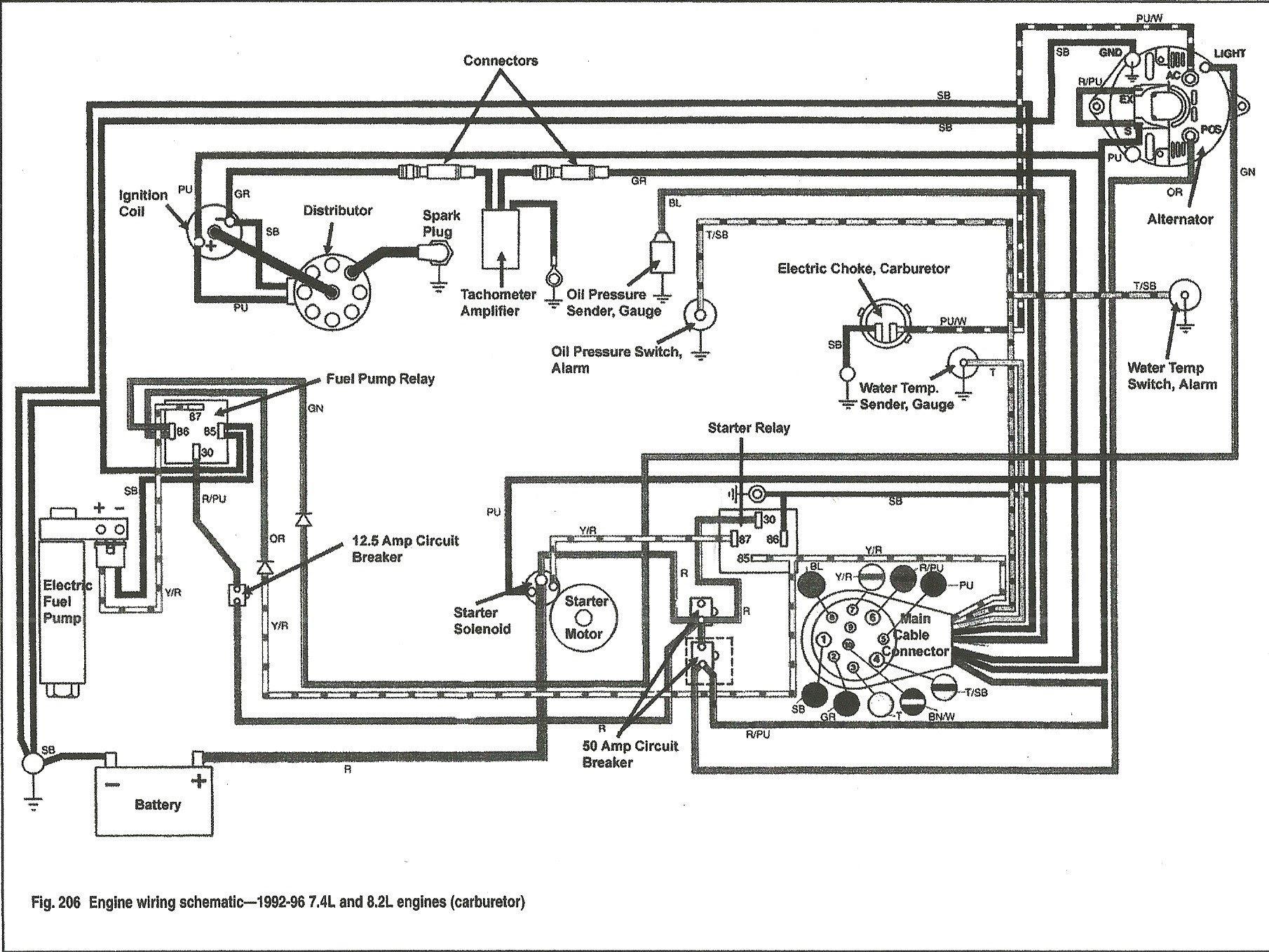 Bed5a2 1986 Bayliner Trophy Wiring Diagram Wiring Resources