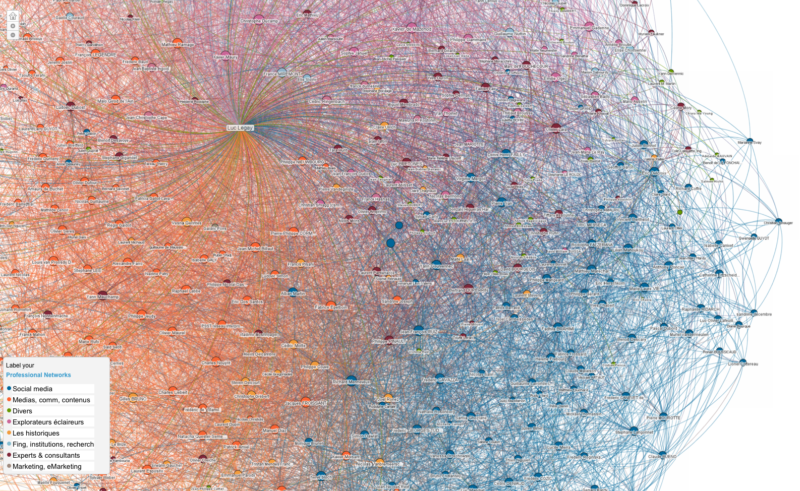 Linkedin Maps Data Visualization Social Network Data
