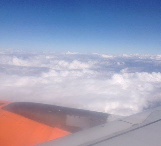 Plane view with Easyjet