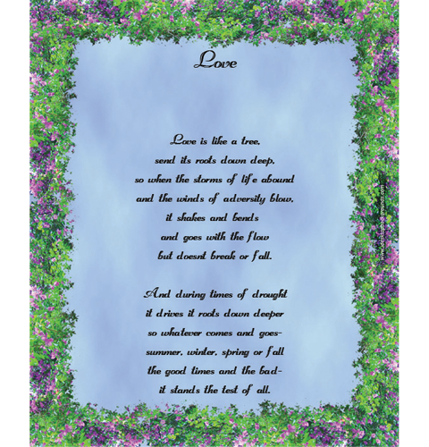 Love poems greeting cards love quotes is love like a tree m4hsunfo