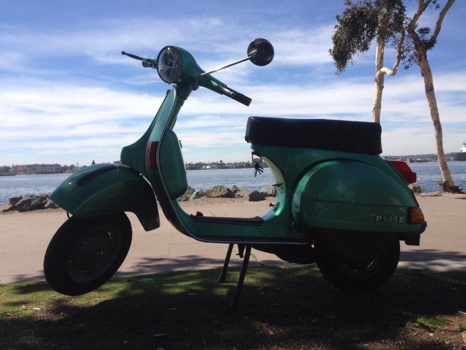 Vespa P200e Motorcycles For Sale In California