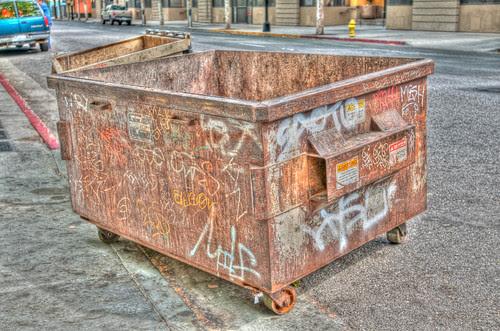 HDR Dumpster