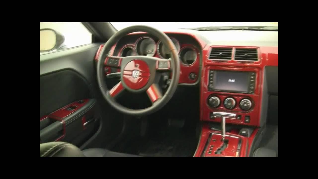 Dodge Challenger Image Dodge Challenger Carbon Fiber Dash Kit