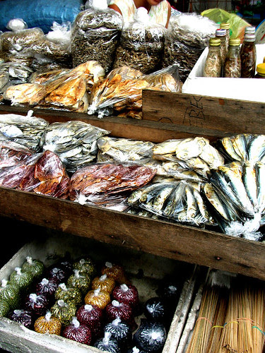 fti dried fish and beans