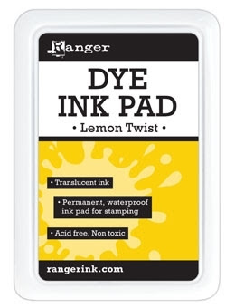 Ranger Dye Ink Pad LEMON TWIST RDP42907