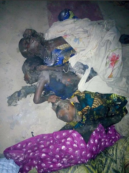 Image result for Mother And Her 4 Kids Burnt To Death After Mosquito Coil Mishap.