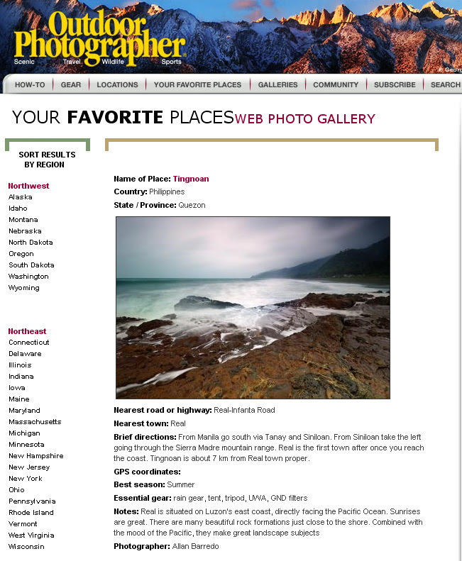 Outdoor Photographer #9